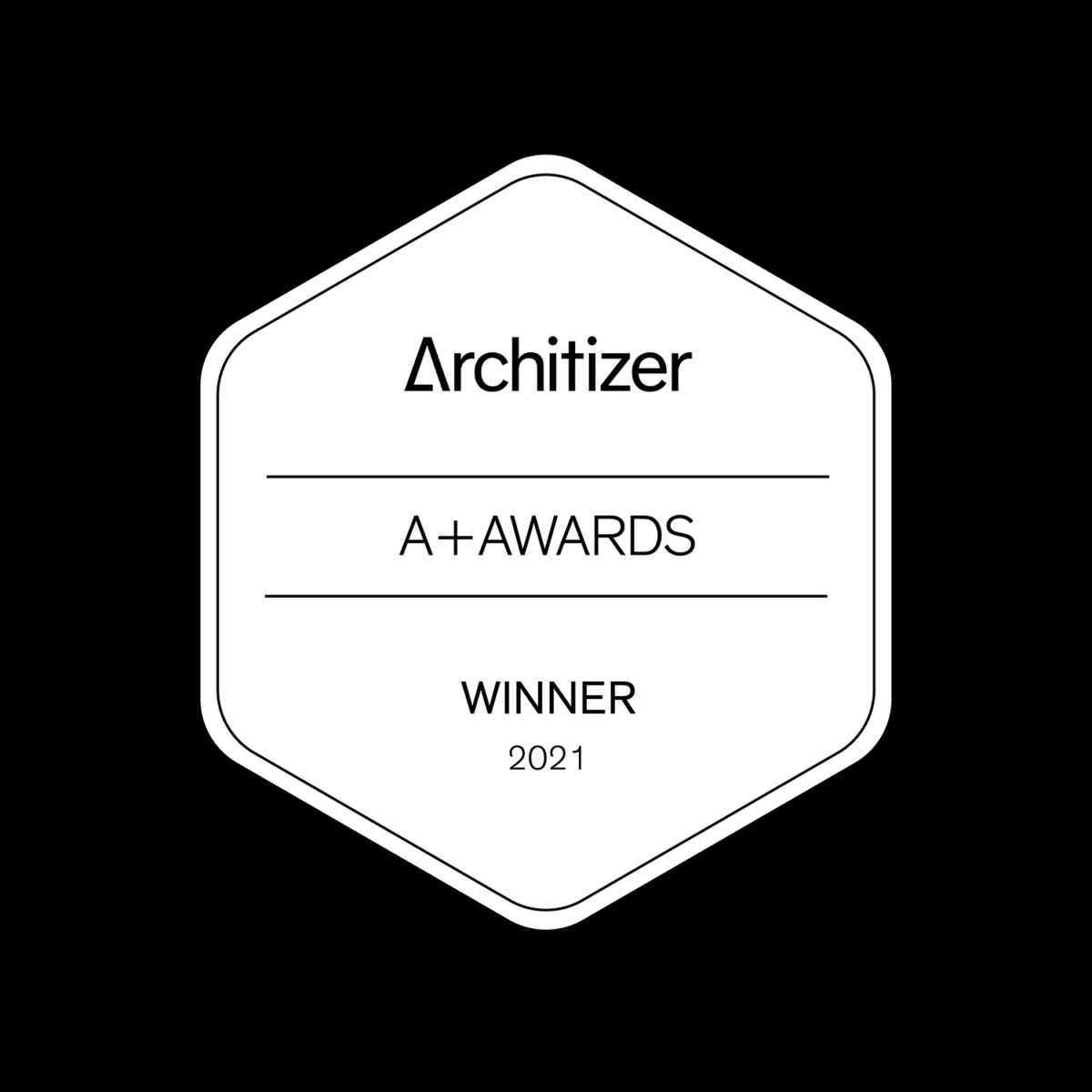 Architizer A+ Awards winner